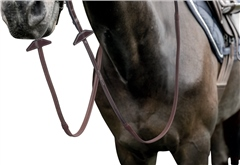 Prestige Italia E144 Prestige 16mm Rubber Grip Reins with embroidery