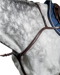 Prestige Italia D35 Prestige Evo Long Bridge Breastplate (with running martingale)