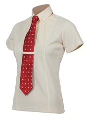 Shires Maids Short Sleeve Tie Shirt