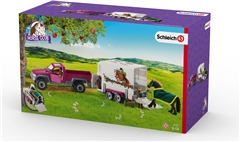 Schleich Toys Schleich Pick Up with Horse Box