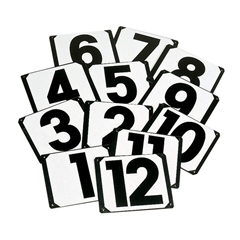 Stubbs England Stubbs Screw on Showjump Numbers 1-12