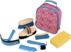 Shires Tikaboo Childrens Grooming Kit Bag