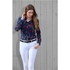 Toggi Clothing Toggi Ladies Jenner Horse Bit Print Shirt