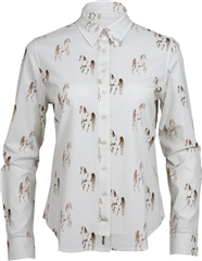 Toggi Clothing Toggi Lambley Ladies Horse Print Shirt