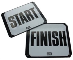 Stubbs England Stubbs Start and Finish Markers - Screw On Plates