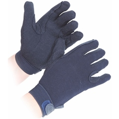 Shires Cotton Pimple Gloves