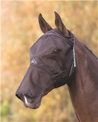 Shires Fine Mesh Fly Mask with Ear and Nose Hole