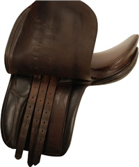 Second Hand A Chase Show Saddle Brown 15 inch Medium
