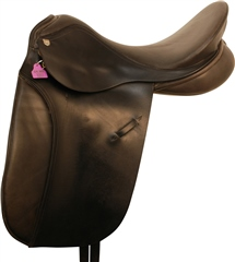 Second Hand Sturgess Dressage Saddle Black 17 inch Medium Wide
