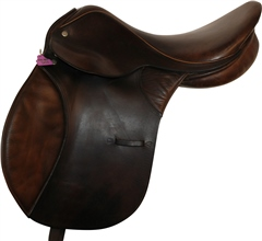 Second Hand Jeffries GP Saddle Brown 17 inches Medium Width