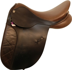 Second Hand Working Hunter Sturgess GP Saddle Brown 17 inch Wide