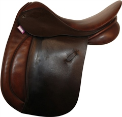 Second Hand Farrington WH Saddle Brown 17.5 inch Medium Wide