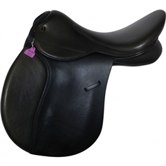 Second Hand GFS Pro Event GP Saddle Black 17 inch Narrow Medium