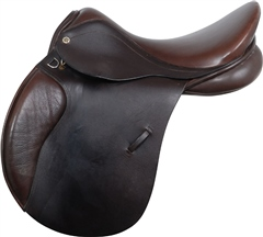 Second Hand Cliff Barnsby General Purpose Saddle Brown 18 inch Medium