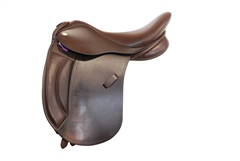Second Hand Old Mill Saddlery Working Hunter Saddle 15.5inch Medium Wide