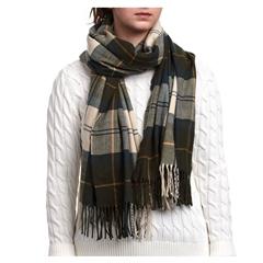 Barbour Modern Country Tartan Scarf
