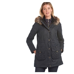 Barbour Homeswood Ladies Wax Jacket
