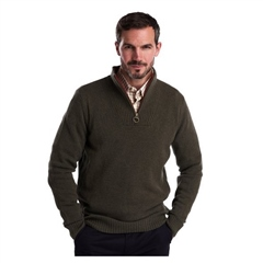 Barbour Mens Nelson Essential Half Zip