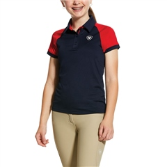 Ariat Youth Team 3.0 Button Polo