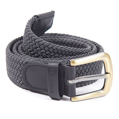 Barbour Stretch Webbing Leather Belt AW20