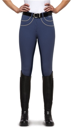 Ariat Ladies Olympia Fashion Contrast Full Seat  - Click to view a larger image