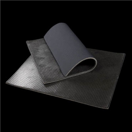Acavallo Squared Back Neoprene and Gel Under Bandages  - Click to view a larger image