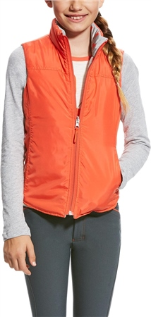 Ariat Girls Emma Reversible Vest  - Click to view a larger image