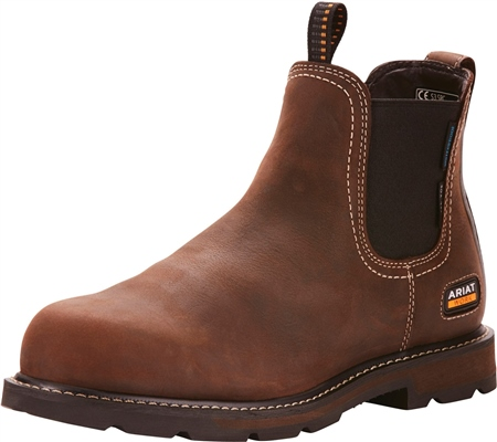 Ariat Groundbreaker Waterproof Steel Toe Boots  - Click to view a larger image