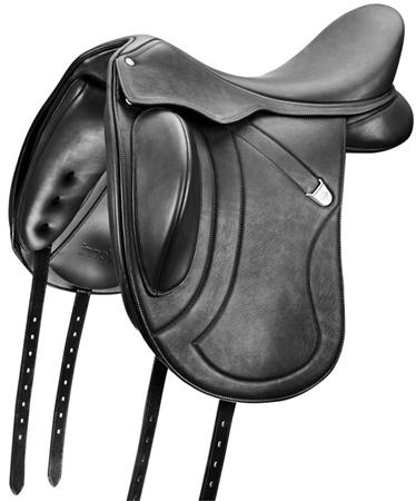 Bates Saddles Bates Innova Mono Flap Dressage Saddle With Cair  - Click to view a larger image