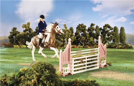 Breyer Traditional Brush Box Jump  - Click to view a larger image