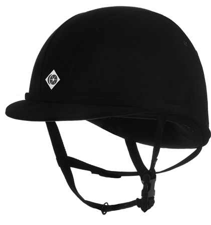 Charles Owen YR8 Junior Riding Hat  - Click to view a larger image