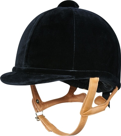 Charles Owen Flash Fian Riding Hat 6 7/8 and Above  - Click to view a larger image