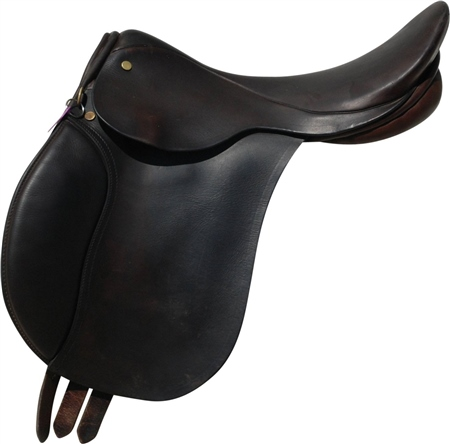 Second Hand Elico GP Saddle Brown 16 inch Medium fit  - Click to view a larger image