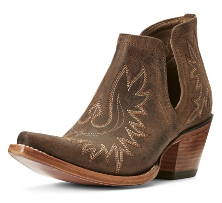 Ariat Dixon Ladies Short Western Boot  - Click to view a larger image