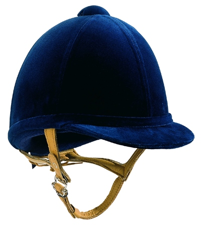 Charles Owen H2000 Squared Hat 6 7/8 and over  - Click to view a larger image