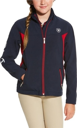 Ariat Youth Team Softshell Jacket  - Click to view a larger image