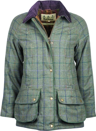 Barbour Ladies Carter Wool Jacket  - Click to view a larger image