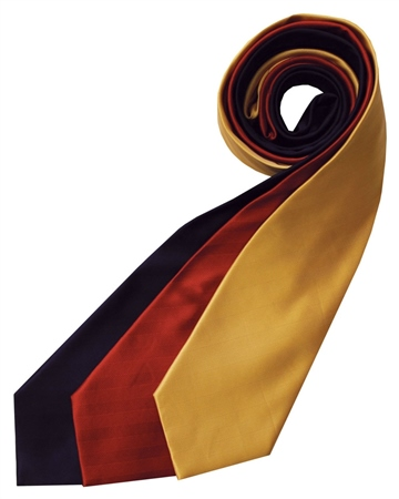 Equetech Junior Plain Herringbone Tie  - Click to view a larger image