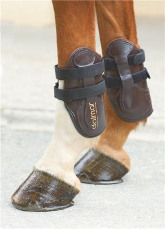 Dalmar Boots Dalmar Leather Pro Technique Back Fetlock Boots  - Click to view a larger image