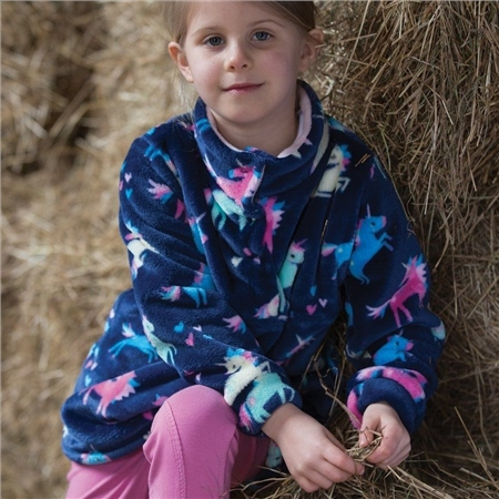 Equetech Dinky Rider Unicorn Fleece  - Click to view a larger image
