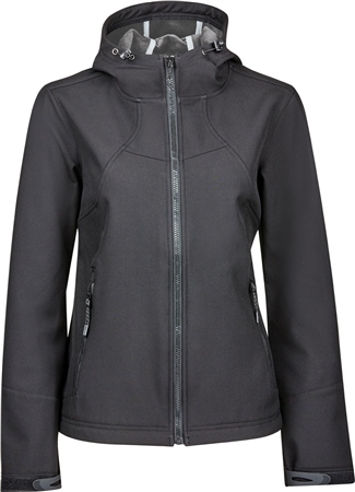 Dublin Black Sam Ladies Softshell Jacket  - Click to view a larger image