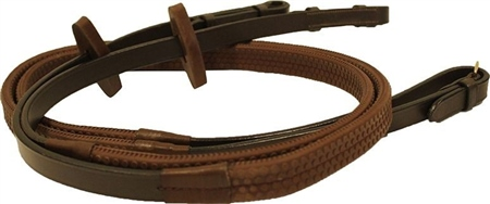 Micklem Rambo Micklem Multibridle Rubber Reins  - Click to view a larger image