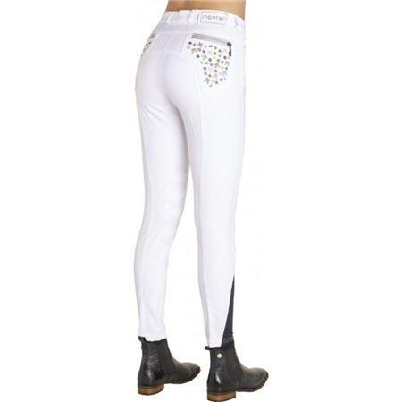 Montar Jane LV Silicone Knee Breeches  - Click to view a larger image