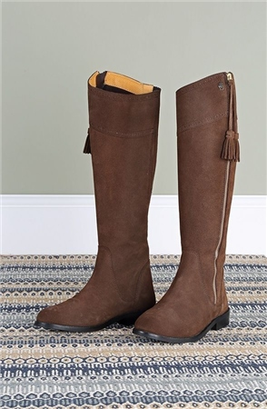 Moretta Florenza Suede Boots  - Click to view a larger image