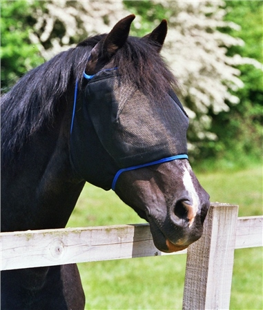 Equilibrium Field Relief Midi Fly Mask, Without Ears  - Click to view a larger image