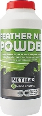 Net-Tex Feather Mite Powder  - Click to view a larger image