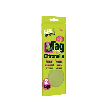 NAF Off Citronella Tag  - Click to view a larger image
