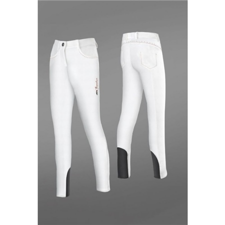 Equiline Boys Breeches With X Grip Knee  - Click to view a larger image