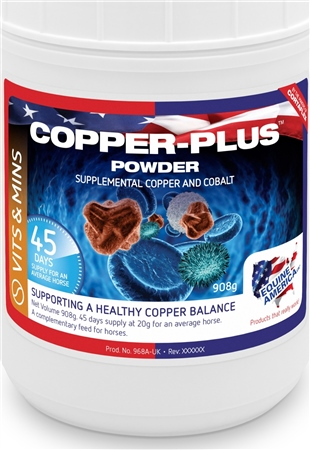 Equine America Copper-Plus Powder  - Click to view a larger image