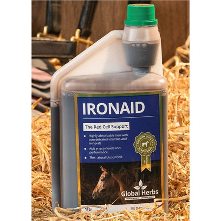 Global Herbs IronAid Liquid  - Click to view a larger image